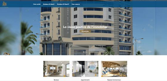 immobiliéré elhamd-site catalogue pour une promotion immobilière