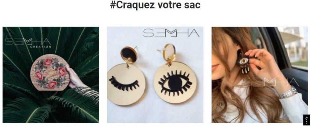semha - Tendances des sac à main2021